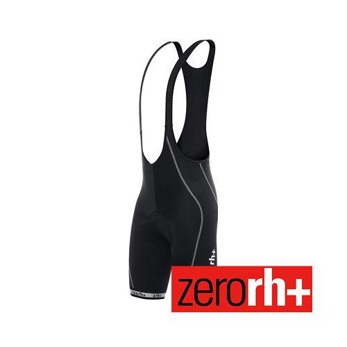 ZERORH 素面 吊帶自行車褲 ECU0105