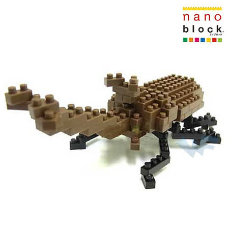 《Nano Block迷你積木》日本獨角仙 (IST-003)