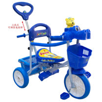 EMC 河馬造型三輪車(水藍/粉紅)