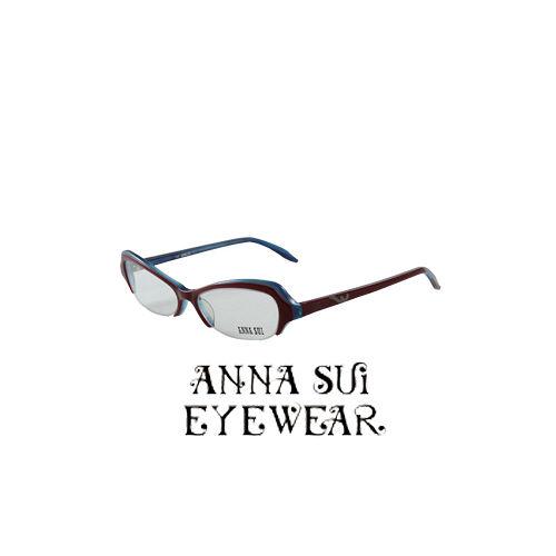 ANNA SUI 蝴蝶 近視平光眼鏡 紫 藍  AS09802
