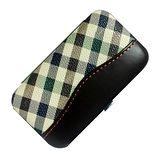 【經典】隨身輕巧框架皮盒修容美甲組(5件式)