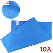 【3M】魔布多功能精密擦拭布-藍色10入組