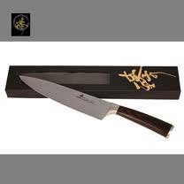 料理刀具 大馬士革鋼系列- 210mm廚師刀 〔臻〕高級廚具