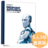ESET Endpoint Antivirus 5 企業版含中央控管-三年5用戶授權【加贈SAMPO濾水壺】