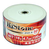 RiStone 日本版 DVD-R 16X  可印片 裸裝 (300片)