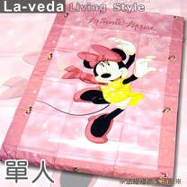 La Veda【迪士尼】單人被套-跳舞米妮(136x197cm)