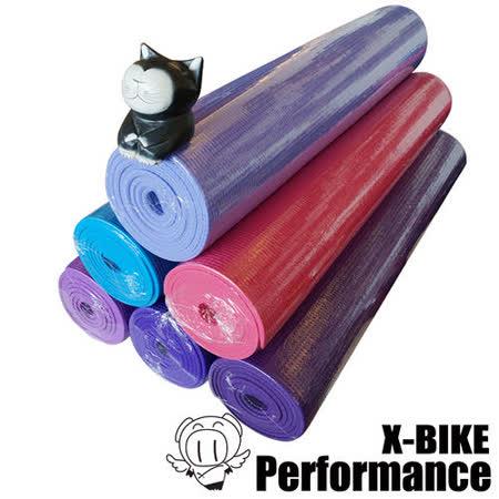 Performance 台灣精品 X-BIKE 環保無毒-瑜珈墊(4mm)