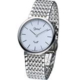 Ogival 愛其華薄型簡約紳士腕錶 385-021M