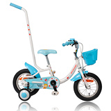 【DUNLOP】12吋手推童車(D-PA12)-藍色