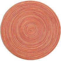 《NOW》織紋圓餐墊(橘)