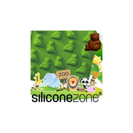 【Siliconezone】施理康ZOO耐熱熊貓巧克力模/冰模-綠色
