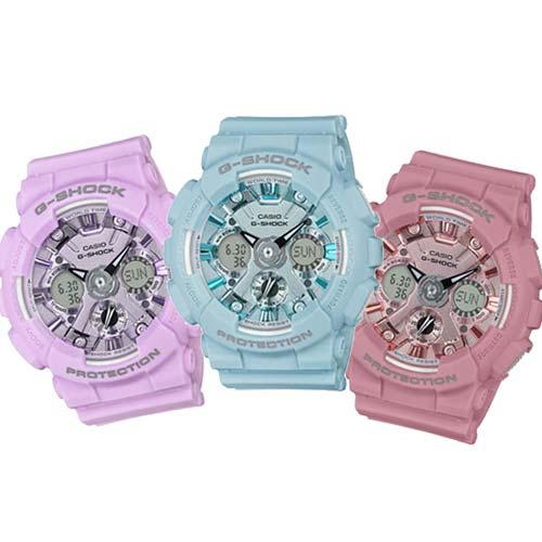 CASIO G-SHOCK/魅力圈專屬時尚運動腕錶/GMA-S120DP-6A