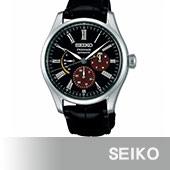 SEIKO精工  Presage限量日式漆繪工藝機械錶(6R21-01F0D/SPB085J1)
