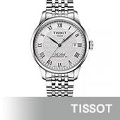 【TISSOT 天梭】力洛克男用不鏽鋼自動機械腕錶(39mm/T0064071103300)