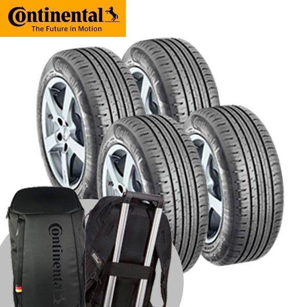 Continental 馬牌CC6  舒適寧靜輪胎_四入組