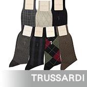 TRUSSARDI 舒適棉質紳士襪-任選1雙