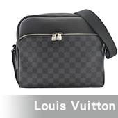 Louis Vuitton LV N41408 Dayton Reporter PM Damier黑灰棋盤格紋斜背商務包