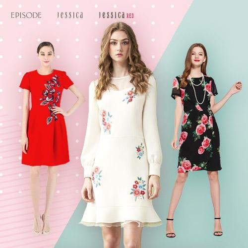 JESSICA x EPISODE 春季洋裝/上衣/短裙