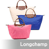 Longchamp 經典高彩度可摺疊水餃包_ 短把/中/多色