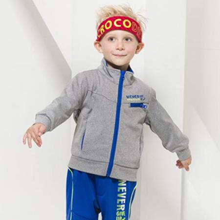 『小鱷魚童裝』<BR>保暖運動外套
