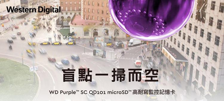 WD 紫標 Micro SDHC  高耐寫 監控 記憶卡