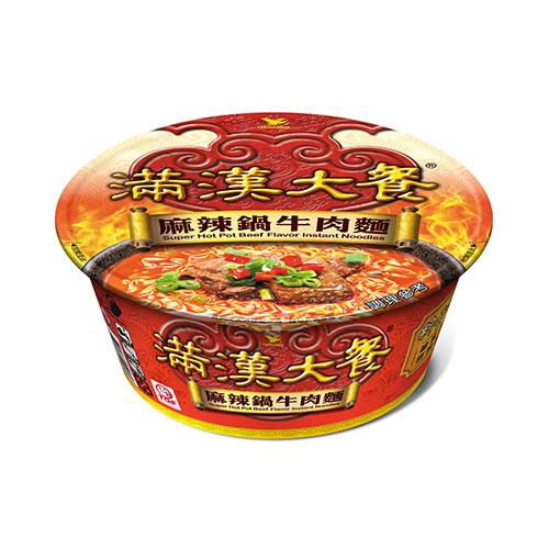 統一滿漢大餐麻辣鍋牛肉麵