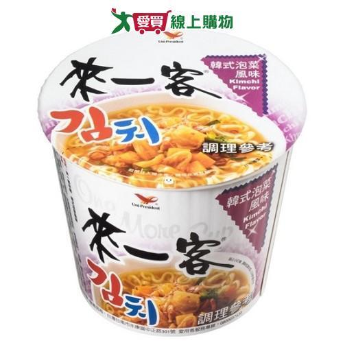 統一來一客杯麵韓式泡菜風味67g x3入