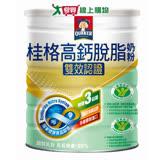 《桂格》高鈣脫脂奶粉-雙認證(健康三益菌/零 膽固醇)1.5KG