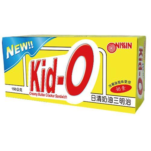 日清Kid-O三明治餅乾-奶油口味150g