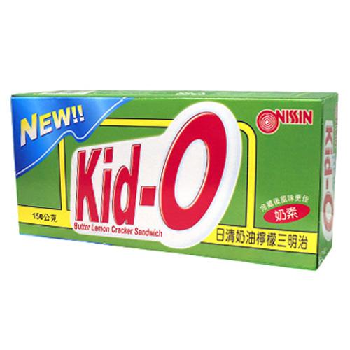日清Kid-O三明治餅乾-奶油檸檬口味150g