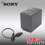 SONY NP-FH70日本電芯高容量數位攝影機專用鋰電池