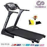 【強生CHANSON】黑炫風電動跑步機 CS-6618