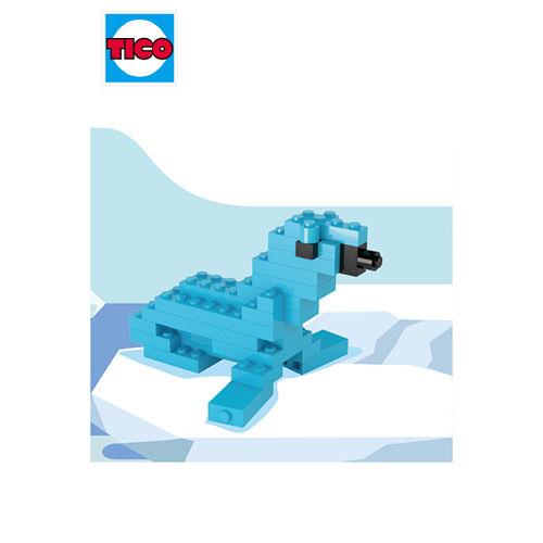 【TICO微型積木 館】海豹  9510