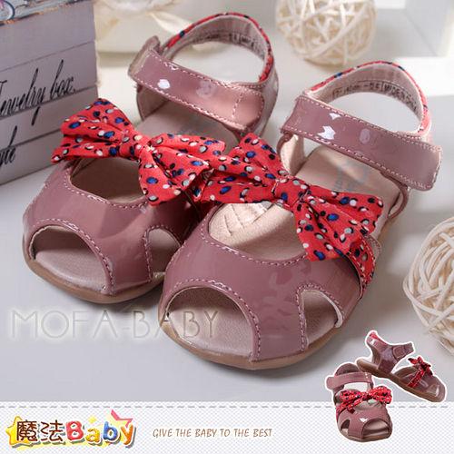 (購物車)魔法Baby~【KUKI酷奇】繽紛點點蝴蝶結涼鞋/寶寶鞋/女童鞋~sh2532