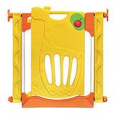 寶貝樂 可愛長頸鹿三段式門鎖安全門欄