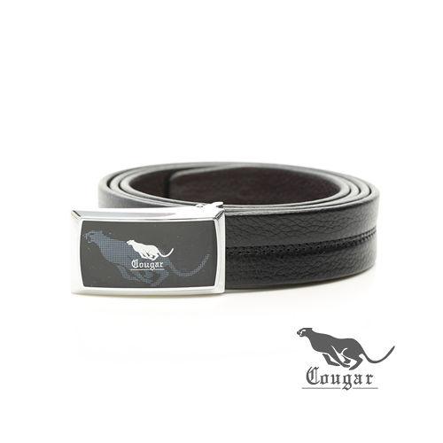Cougar ~ 美洲豹銳凡 牛皮釘扣式皮帶