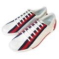 GUCCI 雙G浮水印防水休閒鞋(白) 38.5
