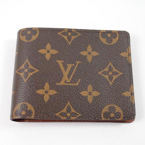 Louis Vuitton M60895 Monagram折疊短夾_預購