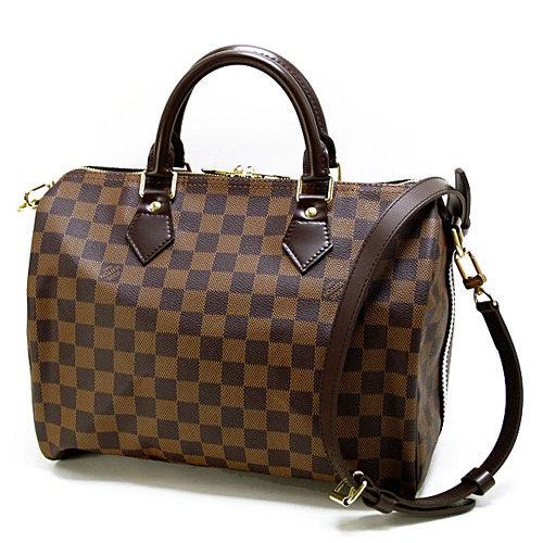 Louis Vuitton LV N41367 N41183 棋盤格紋Speedy 30 手提包(附背帶)_預購