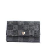 Louis Vuitton LV N62662 Damier 黑棋盤格紋六孔鑰匙包 預購