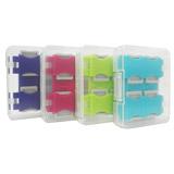 馬卡龍8片裝microSD卡專用收納盒(四色)