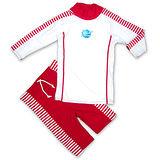 潑寶 Splash About - UV Close Fit 兒童抗UV游泳套裝 - 紅白條紋
