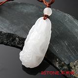 石頭記 護身佛系列-淨瓶如意觀音白玉項鍊
