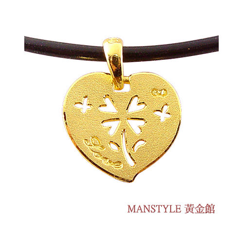 Manstyle 愛相隨黃金墬 (約0.51錢)