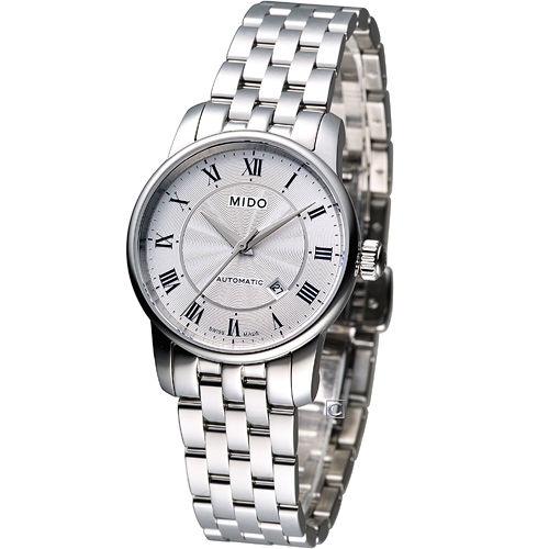 MIDO Baroncelli II 羅馬假期機械腕錶 M7600.4.21.1