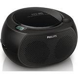 ◆PHILIPS◆ 飛利浦 黑旋風USB/CD手提音響 AZ380