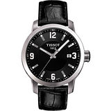 TISSOT PRC200 系列都會石英腕錶-黑 T0554101605700
