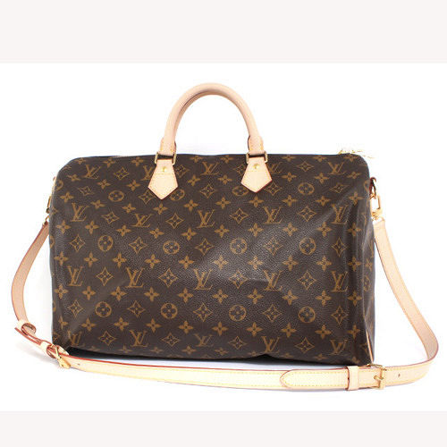 Louis Vuitton M41110  M40393 Speedy 40 經典花紋附背帶手提包_預購