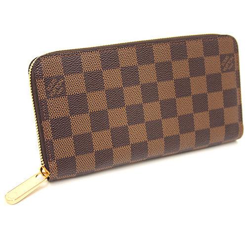 Louis Vuitton N60015 Damier 棋盤格紋拉鍊長夾_預購