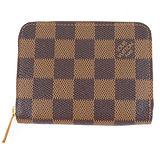 Louis Vuitton LV N63070 棋盤格紋信用卡拉鍊零錢包 預購